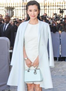 Li Bingbing, handbag from Dior.